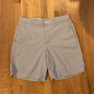 Brooks Brothers Seersucker Shorts, Size 34